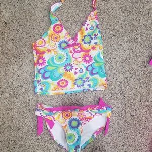 Other - Floral design tankini